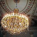 Chandelier At Palace by Gerald Blaine