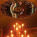 Chandelier At The Brown Palace In Denver by John Malone