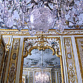 Chandelier Inside Chateau De Chantilly by Dave Mills