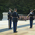 Changing Of The Guard by Paul W Faust -  Impressions of Light