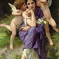 Chansons De Printemps by William Adolphe Bouguereau