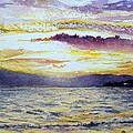 Chapala Sunset by Patrick DuMouchel
