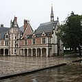 Chapel And Courtyard Chateau Blois by Christiane Schulze Art And Photography