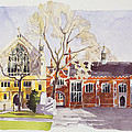 Chapel And Hall  Lincoln's Inn by Annabel Wilson