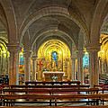 Chapel At Notre Dame Cathedral Verdun by Dave Mills