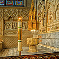 Chapel At Saint Patricks Cathedral by Dave Mills