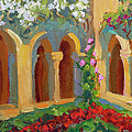 Chapel At St. Remy by Diane McClary