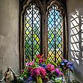 Chapel Flowers by Adrian Evans