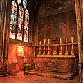 Chapel In St Severin Church Paris by Louise Heusinkveld