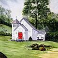 Chapel In The Mounts by Julia Rietz