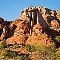 Chapel Of The Holy Cross Sedona Arizona 100 by Douglas Barnett