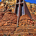 Chapel Of The Holy Cross  Sedona Arizona by Jon Berghoff