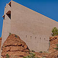 Chapel Of The Holy Cross Sedona Az Side by Scott Campbell