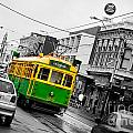 Chapel St Tram by Az Jackson