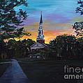 Chapel Sunset by Roni Meunier