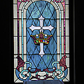Chapel Window - Tied For 2nd Place In The Thanks Be To God Contest by Ericamaxine Price