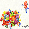 Characters In Balloon by Glenn Farrell
