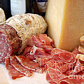 Salami And Cheese by Rosemarie Morelli
