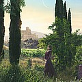 Chardonnay Wine Country Fantasy by Stu Shepherd