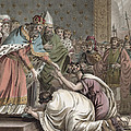 Charlemagne Receives The Ambassadors by Jean Claude Naigeon