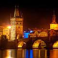 Charles Bridge II- Prague by John Galbo