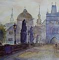 Charles Bridge Prague by Xueling Zou