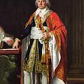 Charles Louis Francois Letourneur 1751-1817 1796 Oil On Canvas by Jean Baptiste Francois Desoria