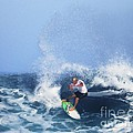 Charles Martin Pro Surfer In Hawaii by Scott Cameron