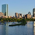 Charles River Reflection by Toby McGuire