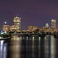Charles River Reflections - Boston by Joann Vitali