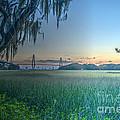 Charleston Bridge View by Dale Powell