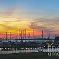 Charleston Harbor Sunset by Dale Powell