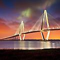 Charleston Sc - Arthur Ravenel Jr. Bridge Cooper River by Dave Allen