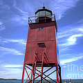 Charlevoix Lighthouse by Twenty Two North Photography