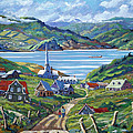 Charlevoix Scene by Richard T Pranke
