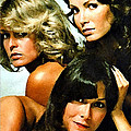 Charlies Angels Painting by Marvin Blaine