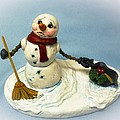 Charlie's Hat Snowman by Melissa Bittinger