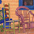 Charlies Porch by Sandra Selle Rodriguez