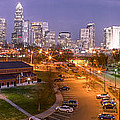 Charlotte Blue Hour  by Abe Pacana