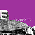 Charlotte Nascar Hall Of Fame - Plum North Carolina by DB Artist