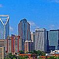 Charlotte Panorama by Gene Berkenbile