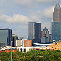 Charlotte Panorama II by Gene Berkenbile