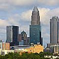 Charlotte Panorama IIi by Gene Berkenbile