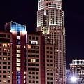 Charlotte Skyscraper by Frozen in Time Fine Art Photography