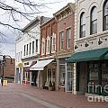 Charlottesville Virginia Downtown Mall by Jason O Watson