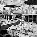 Charter Fishing Boats In The Old Seaport Of Key West Florida Usa by Joe Fox