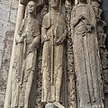Chartres Cathedral Saints by Deborah Smolinske