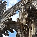 Chartres Flying Buttress by Deborah Smolinske