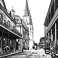 Chartres St In The French Quarter 3 by Steve Harrington