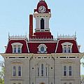 Chase County Courthouse In Kansas by Catherine Sherman